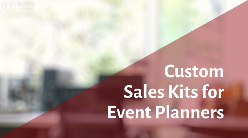 Sales Kits for Event Planners. Help them experience your venue.
