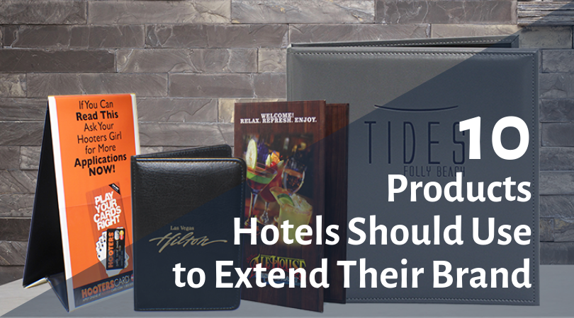 10 Products Your Hotel Should Be Using to Extend Your Brand