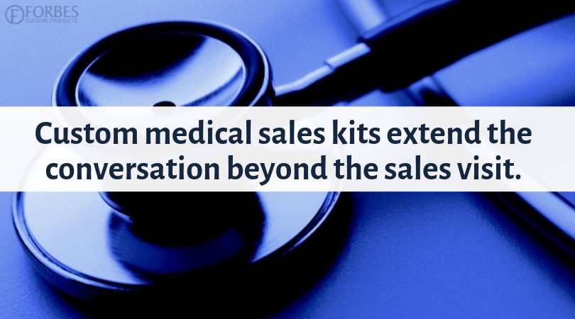 Custom sales tools for healthcare and medical that keep the conversation moving forward