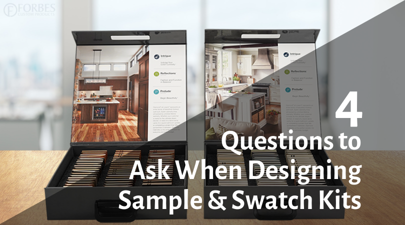 4 Questions You Need to Answer When Designing a Sample or Swatch Kit