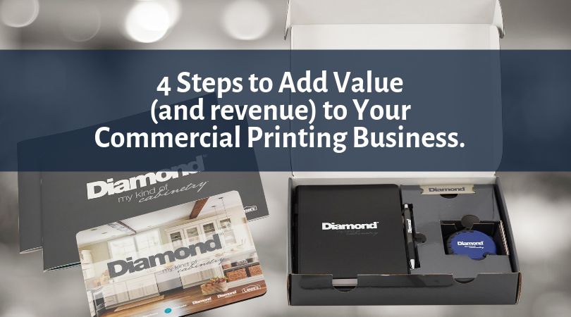 4 Steps to Add Revenue to Your Commercial Print Offering